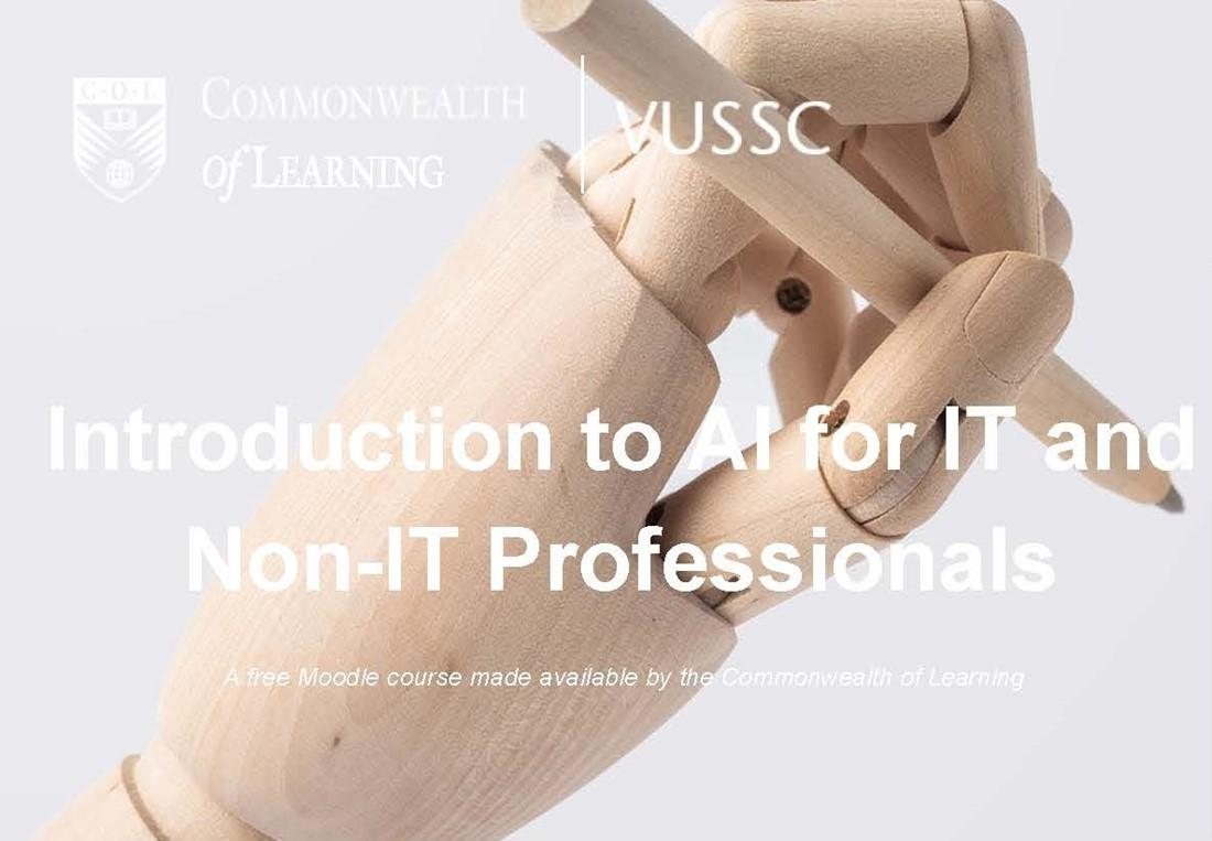 Banner image of Introducation to AI for IT and Non-IT Professionals course