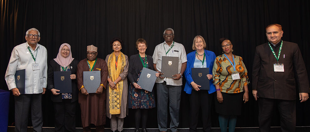 Group photo of Honorary Fellows at PCF9 September 2019.