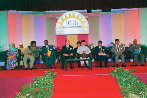 Closing ceremony at PCF1
