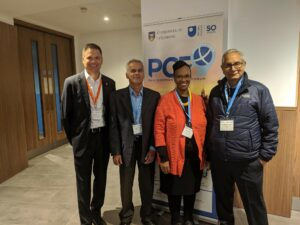 Several COL Chairs meet at PCF9